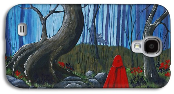 Red Riding Hood In The Forest Galaxy S4 Case