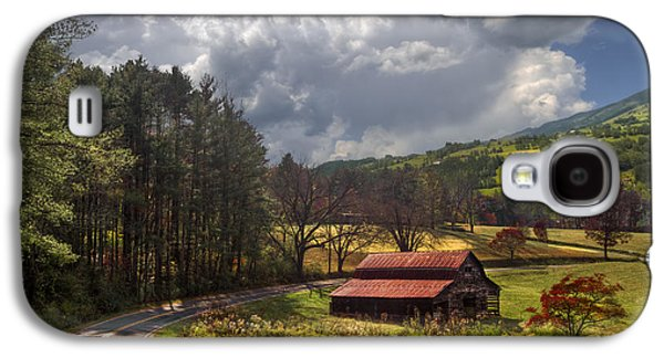 Red Roof Barn Galaxy S4 Case