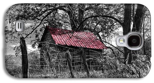 Red Roof Galaxy S4 Case by Debra and Dave Vanderlaan