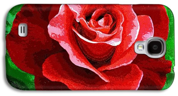 Red Rose Radiance Galaxy S4 Case