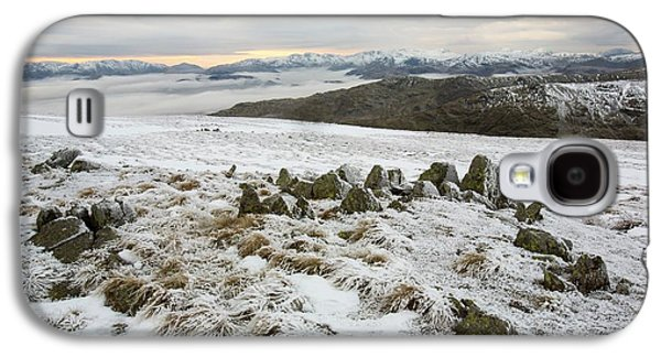 Red Screes Above Ambleside With Mist Galaxy S4 Case
