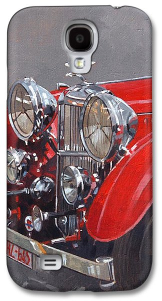 Red Sp 25 Alvis  Galaxy S4 Case by Peter Miller