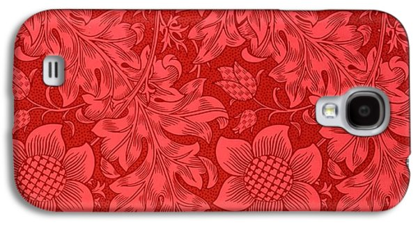 Red Sunflower Wallpaper Design, 1879 Galaxy S4 Case