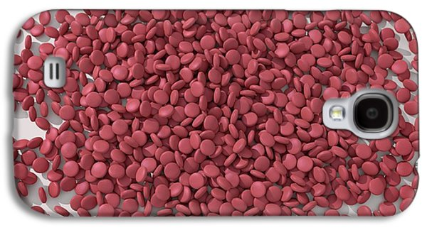 Red Tablets Galaxy S4 Case