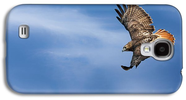 Red Tailed Hawk Soaring Galaxy S4 Case by Bill Wakeley