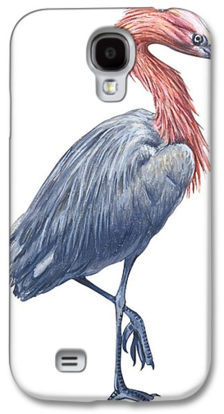 Reddish Egret Galaxy S4 Case by Anonymous