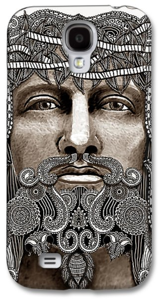 Redeemer - Modern Jesus Iconography - Copyrighted Galaxy S4 Case by Christopher Beikmann
