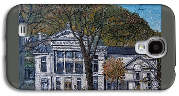 Redpath Museum Galaxy S4 Case by Reb Frost