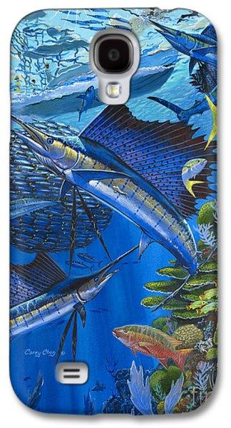 Reef Frenzy Off00141 Galaxy S4 Case by Carey Chen