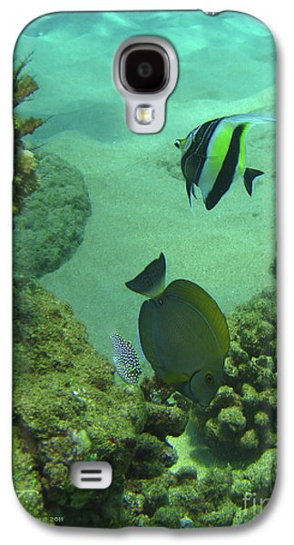 Reef Life Galaxy S4 Case by Suzette Kallen