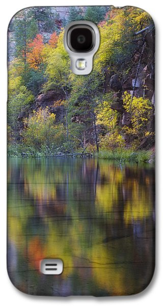 Reflected Fall Galaxy S4 Case by Peter Coskun