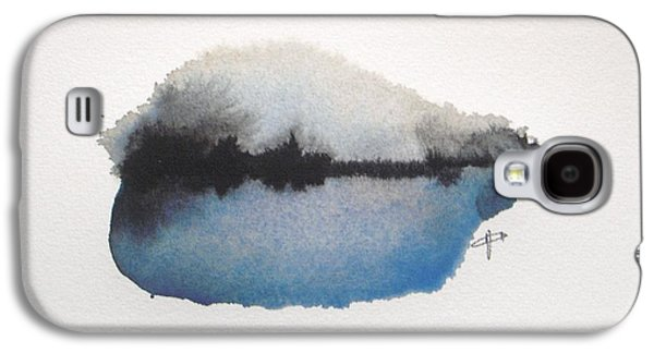 Abstract Galaxy S4 Case - Reflection In The Lake by Vesna Antic