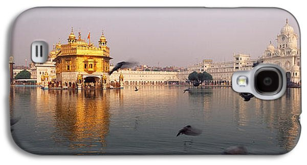 Reflection Of A Temple In A Lake Galaxy S4 Case by Panoramic Images