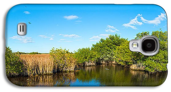 Reflection Of Trees In A Lake, Big Galaxy S4 Case