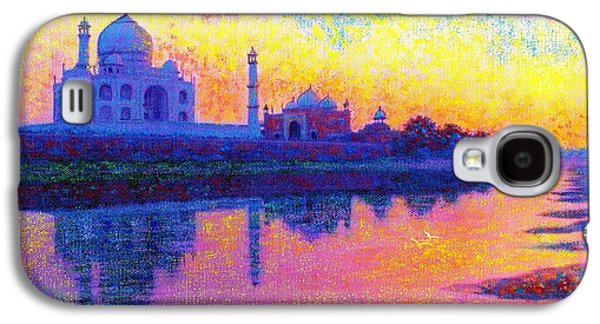 Taj Mahal, Reflections Of India Galaxy S4 Case