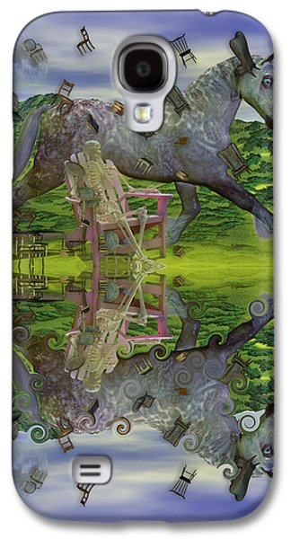 Reflective Oz Galaxy S4 Case by Betsy Knapp