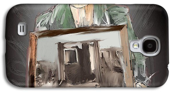 Refugee Galaxy S4 Case by H James Hoff
