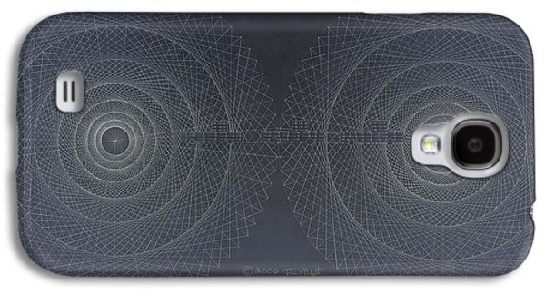 Relativity Galaxy S4 Case by Jason Padgett
