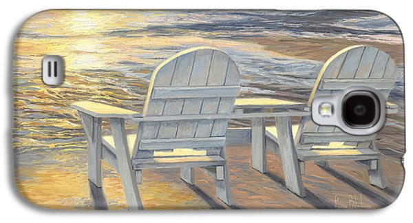 Relaxing Sunset Galaxy S4 Case by Lucie Bilodeau