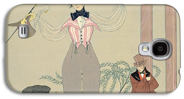 Rendez-vous  Galaxy S4 Case by Georges Barbier
