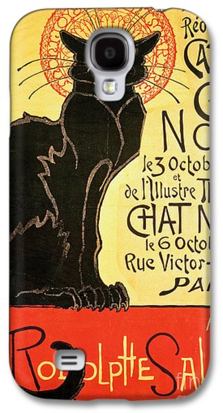 Cat Galaxy S4 Case - Reopening Of The Chat Noir Cabaret by Theophile Alexandre Steinlen