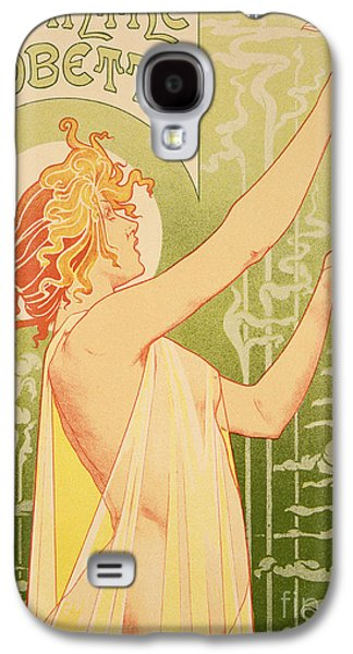 Reproduction Of A Poster Advertising 'robette Absinthe' Galaxy S4 Case by Livemont