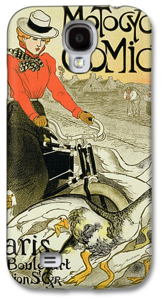 Reproduction Of A Poster Advertising Galaxy S4 Case by Theophile Alexandre Steinlen