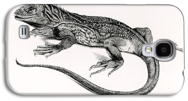 Reptile Galaxy S4 Case by English School