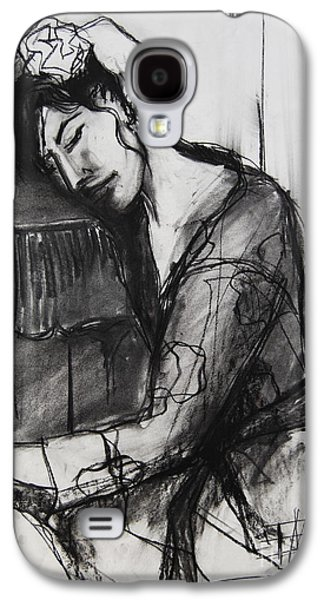 Rest - Pia #8 - Figure Series Galaxy S4 Case by Mona Edulesco