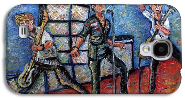 Revolution Rock The Clash Galaxy S4 Case by Jason Gluskin
