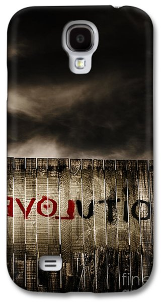 Revolution. The Writings Is On The Wall Galaxy S4 Case