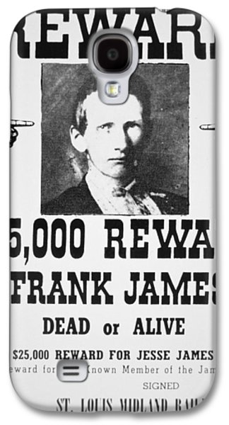 Reward Poster For Frank James Galaxy S4 Case by American School