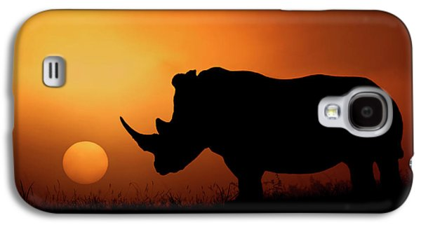 Rhino Sunrise Galaxy S4 Case
