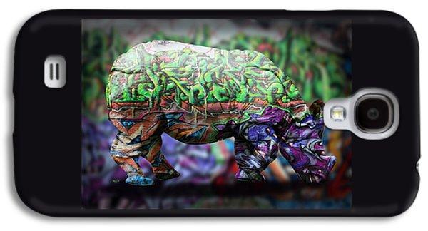 Rhino4 Galaxy S4 Case by Mark Ashkenazi