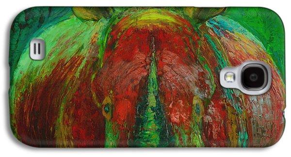Rhinocerus Galaxy S4 Case by Magdalena Walulik