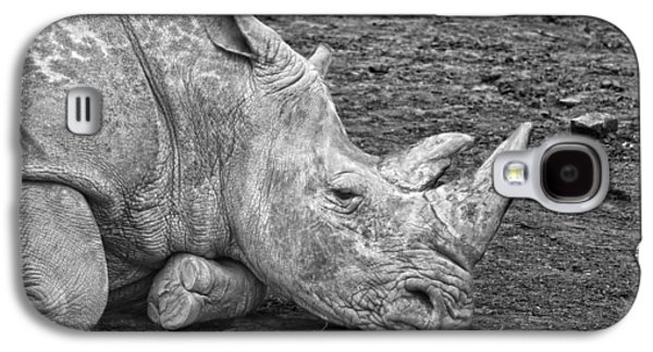 Rhinoceros Galaxy S4 Case by Nancy Aurand-Humpf