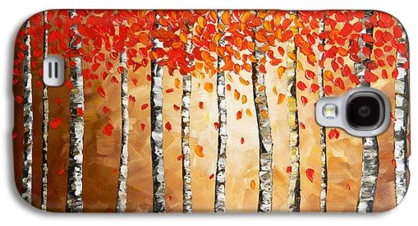 Rich Trees Galaxy S4 Case by Denisa Laura Doltu