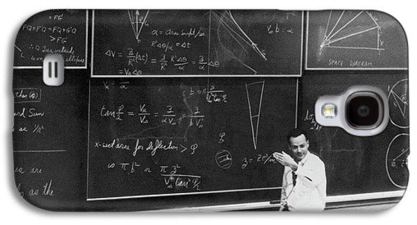 Richard Feynman Galaxy S4 Case