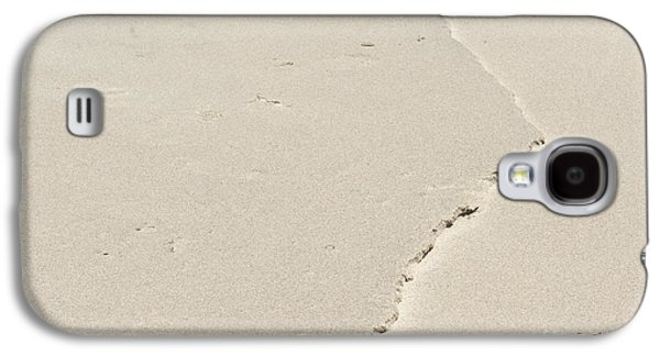 Ridge In The Sand At Big Sur Galaxy S4 Case by Artist and Photographer Laura Wrede