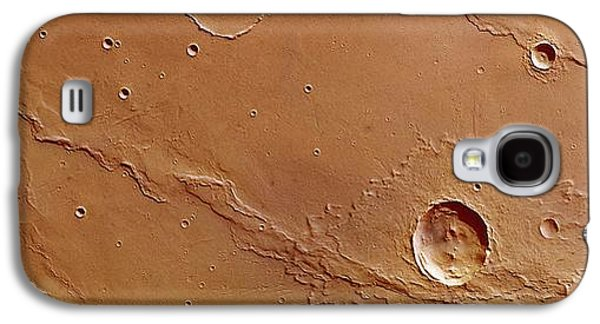Ridges And Craters Galaxy S4 Case by European Space Agency/dlr/fu Berlin (g. Neukum)