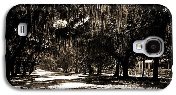 Ridgewood Ave, Daytona, Fla, Roads, Spanish Moss Galaxy S4 Case
