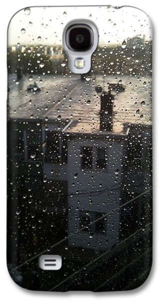 Ridgewood Houses Wet With Rain Galaxy S4 Case