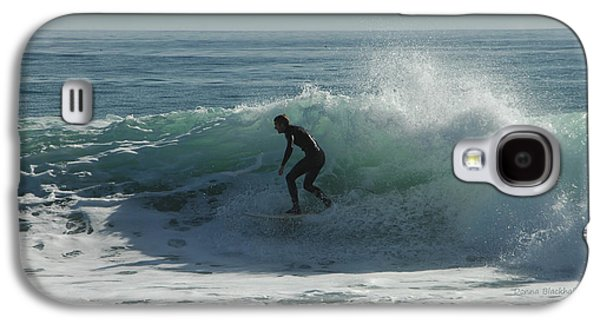 Riding It In Galaxy S4 Case by Donna Blackhall
