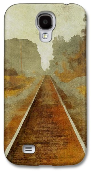 Riding The Rails Galaxy S4 Case by Dan Sproul