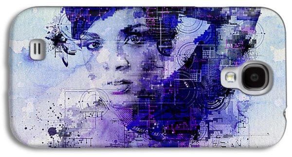 Rihanna 2 Galaxy S4 Case by Bekim Art