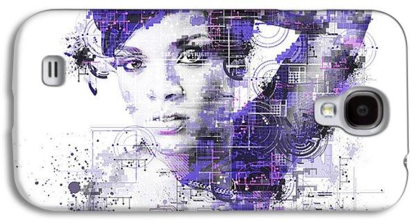 Rihanna Galaxy S4 Case by Bekim Art