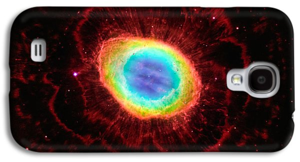 Ring Nebula's True Shape Galaxy S4 Case by Marco Oliveira