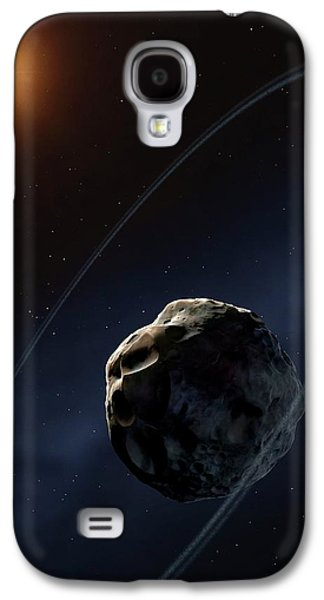 Ringed Asteroid Chariklo Galaxy S4 Case by Mark Garlick
