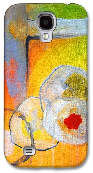 Rings Abstract Galaxy S4 Case by Nancy Merkle