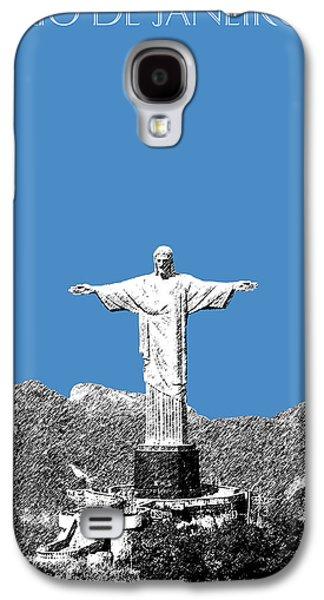 Rio De Janeiro Skyline Christ The Redeemer - Slate Galaxy S4 Case